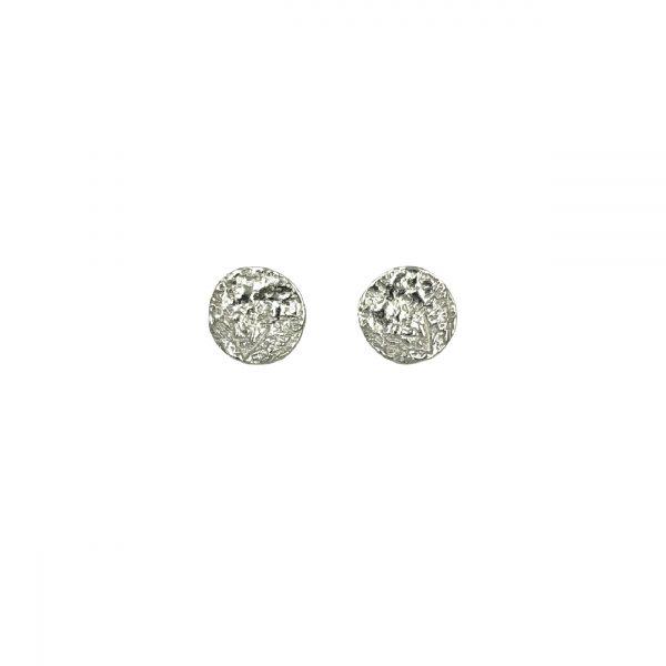 Moon ørestikker sølv, to the moon and back, symbol for drømme og følelser, design Lene Kjølner