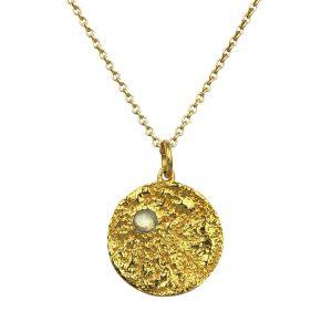 moon vedhaeng guld wm