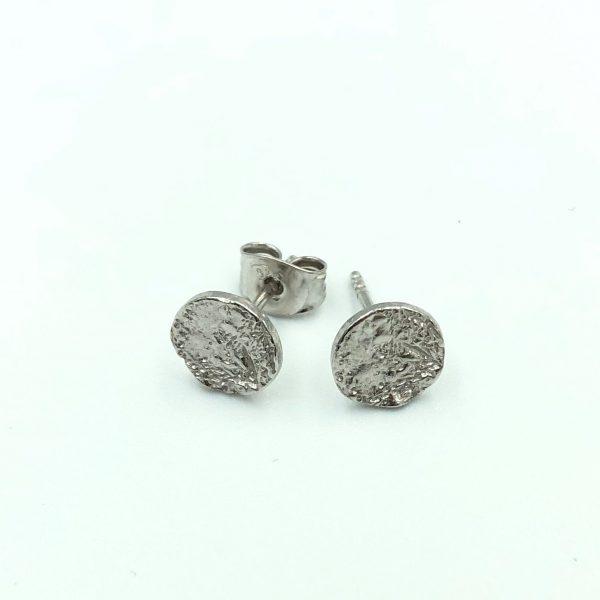 Moon ørestikker sølv, liggende, to the moon and back, smykker med mening