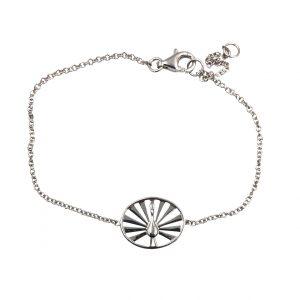 peacock armbånd, sølv med vedhæng med påfugl, symbol for at være unik og fantastisk, stay amazing